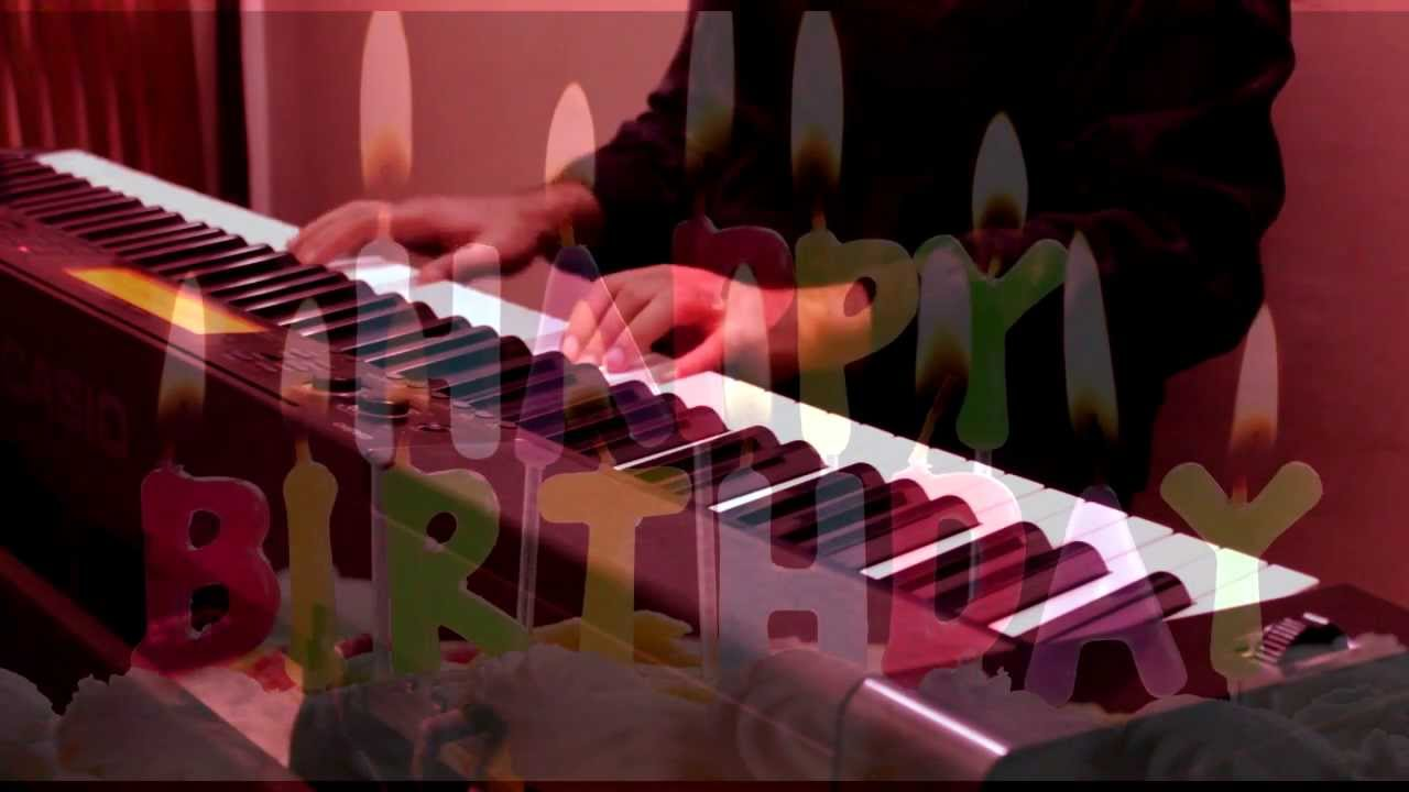 Wishing A Very Happy Birthday Piano