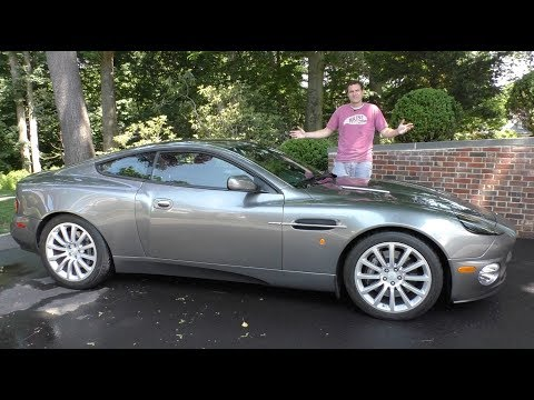 The Aston Martin Vanquish Is an $85,000 Used Car Bargain