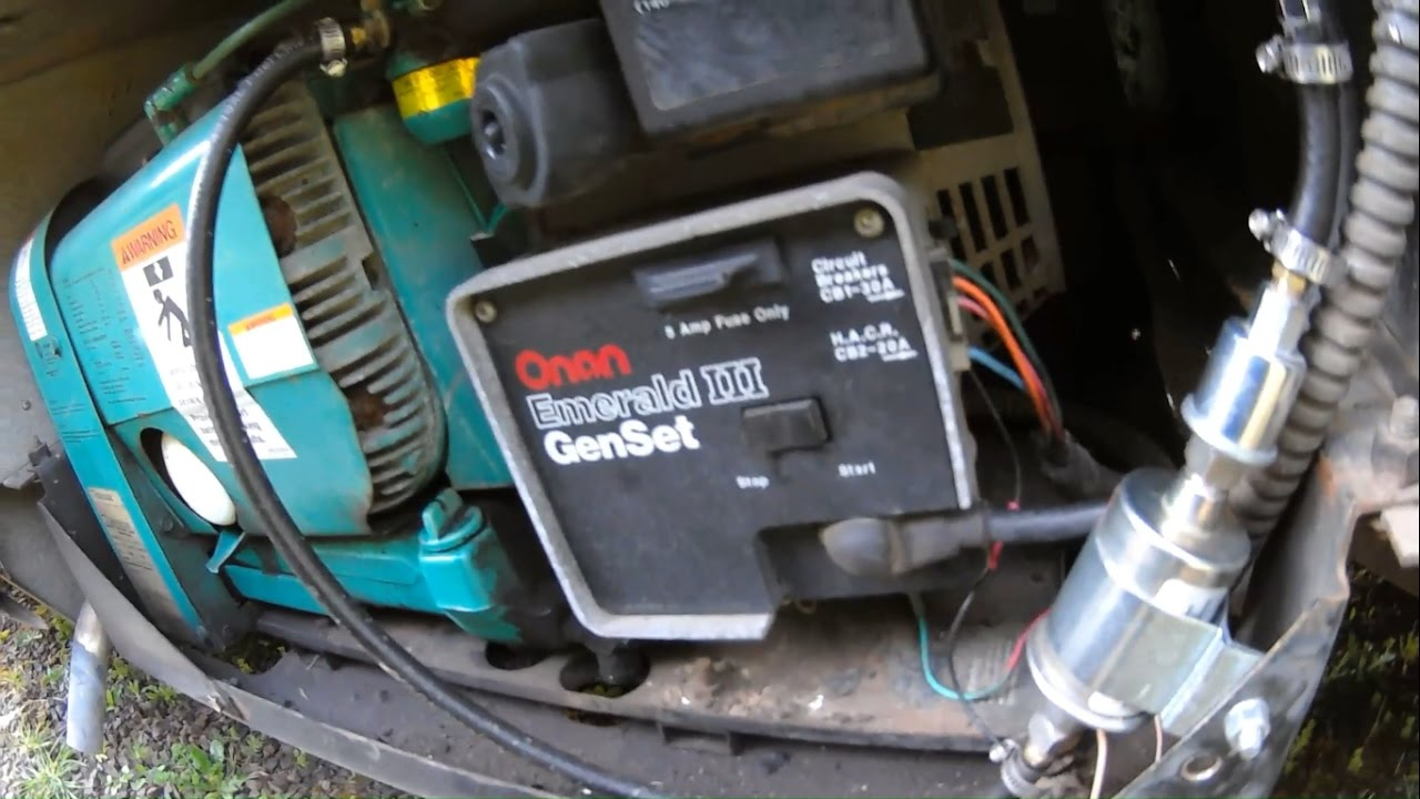 rv wiring diagrams vz sv6 stereo diagram onan genset iii generator repair | replacing starter motor - youtube