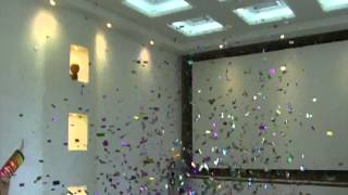 видео «Серпантин новогодних затей» на площади Праздников