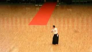 第34回日本古武道演武大会にて。素晴らしい演武に感謝。