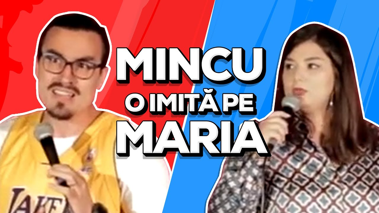 Mincu o imită pe Maria | Stand-up Comedy | Schimb de Glume