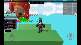 Jogando Obby Angry Birds em Roblox