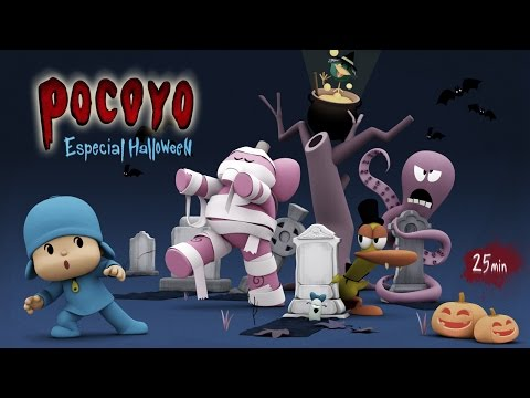 Pocoyó En Español Halloween Pelis De Terror 25 Min Caricaturas Y Dibujos Animados Para Niños