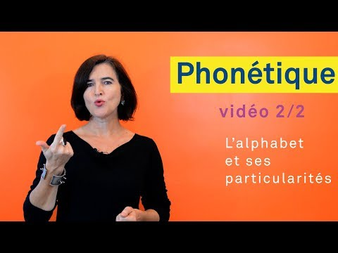 Pronounce French Alphabet
