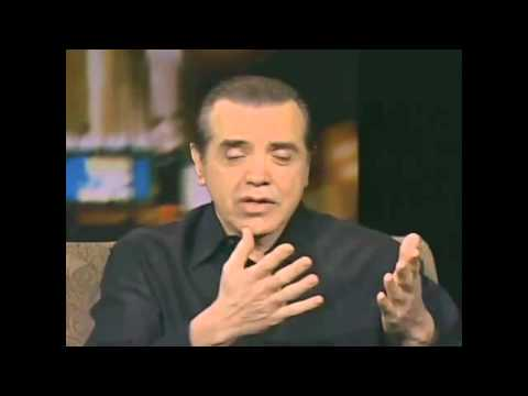 Theater Talk  Actor Chazz Palminteri discusses his one man B