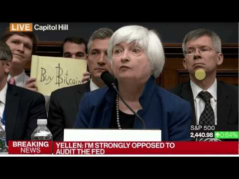 """Yellen: """"I'm Strongly Opposed to Audit the Fed"""""""
