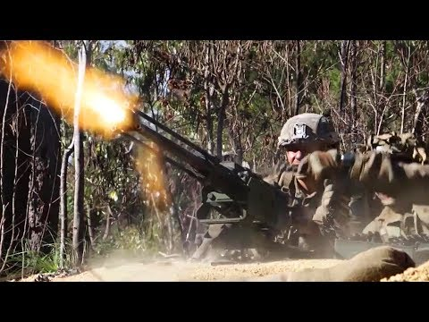 Australian Troops Show Off Their War Fighting Skills During Military Exercise