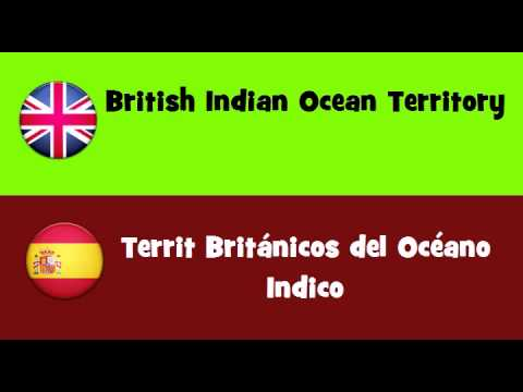 FROM ENGLISH TO SPANISH = British Indian Ocean Territory