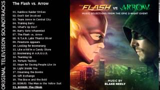 [OTS] The Flash vs. Arrow (Music Selections) - 21. BONUS: The Climb
