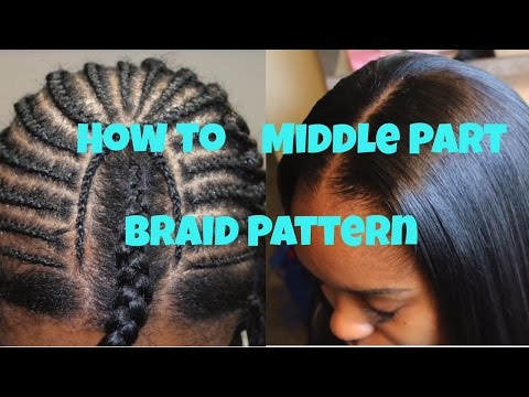 Sew in with leave out and custom color - YouTube