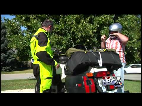 Long-Distance Motorcycle Ride for Freedom House