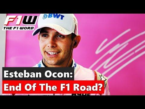 Esteban Ocon: The End Of The F1 Road?