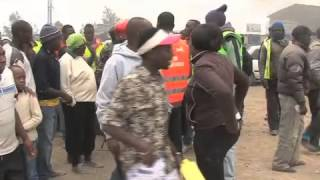 Residents in Mavoko take to the streets protesting poor state of road