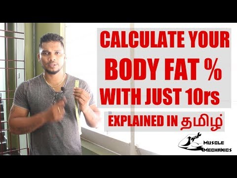How to Calculate Body Fat Percentage | Calculate Body Fat Percentage on your own