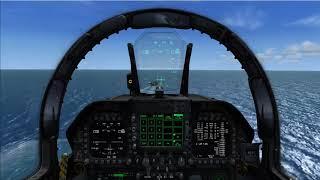 CVN-68 CARRIER OPS LANDING [F/A-18E]