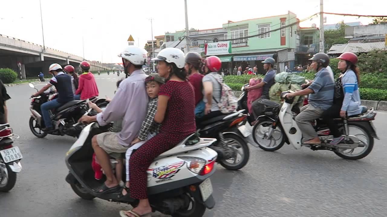 Traffic HCMC - YouTube