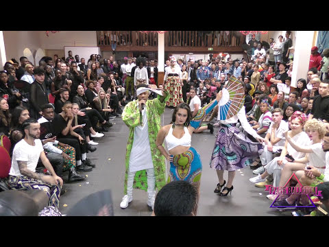 RUNWAY at The United States of Africa Ball