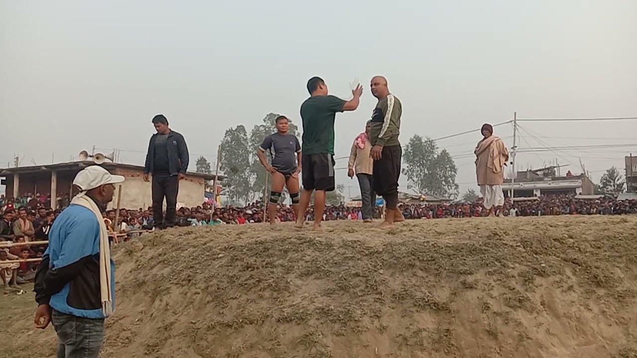 Badal rajastan v/s basant thapa nepal   Rk productions mirchaiya
