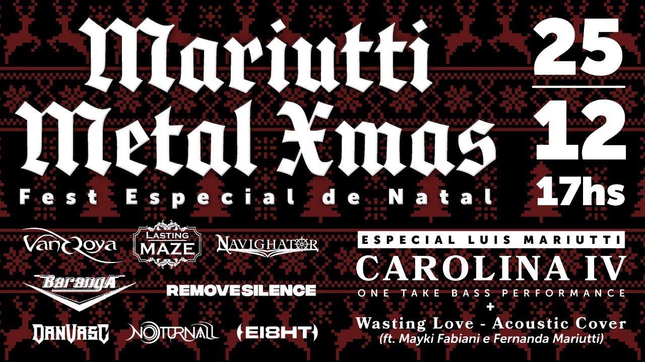 REMOVE SILENCE no Mariutti Metal Xmas