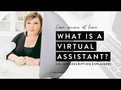 Virtual Assistant Job Description Explained (Earn Income From Home)