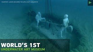 Mini-Atlantis? Eerie underwater museum revealed off Canary Islands