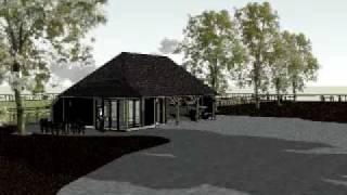 nieuws eiken poolhouse of eiken atelier met eiken carport 4 vaks ontwerp www.gebouwerbij.nl