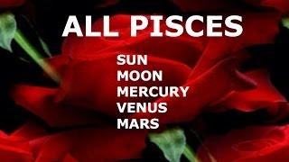 ALL ABOUT PISCES:  SUN, MOON, MERCURY, VENUS, MARS