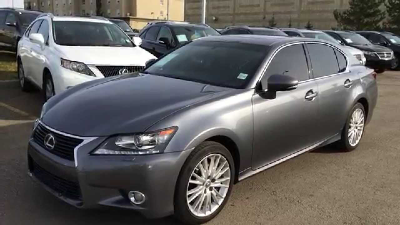 Lexus Certified Pre Owned 2013 GS 350 AWD   Grey On Saddle Tan   Luxury  Review   Fort McMurray, AB