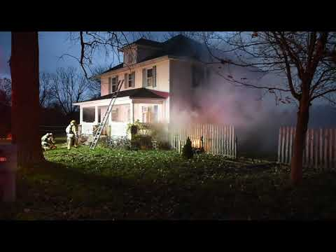 Fire on Park Drive in Summit Township