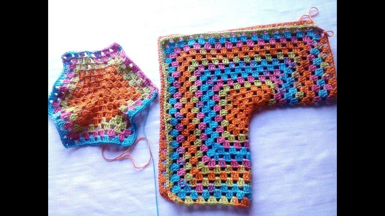 Hexágono de crochet que se convierte en chaqueta: todas las tallas ...