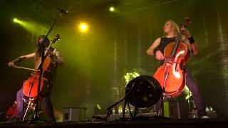 INSANE PERFORMANCE Apocalyptica covering Battery by Metallica