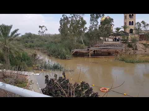 The Twelve Israelite Tribes Crossed The Jordan River Here, See What Happened To The River There Now