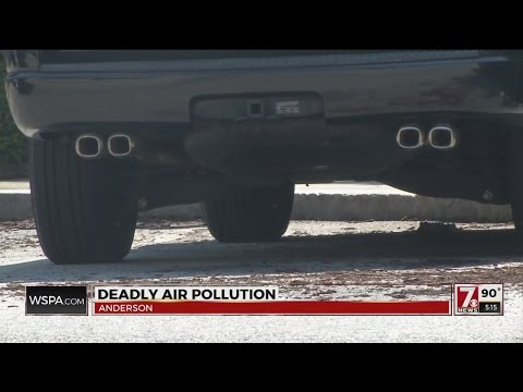 Deaths related to air pollution in Upstate and Nationwide