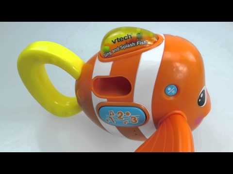 Vtech Sing And Splash Fish 音樂噴水小魚