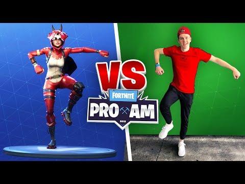 Fortnite IRL DANCE CHALLENGE E3 Vlog