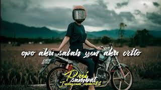 Download Lagu Sobat Ambyar Opo Aku Salah Maya Sabrina Mp3 Mp4