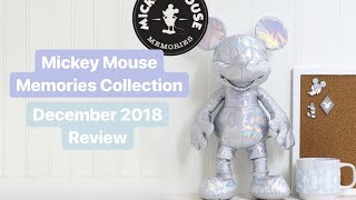 Mickey Mouse Memories Collection | Review #12 December 2018 | Plush, Pins, Mug ShopDisney
