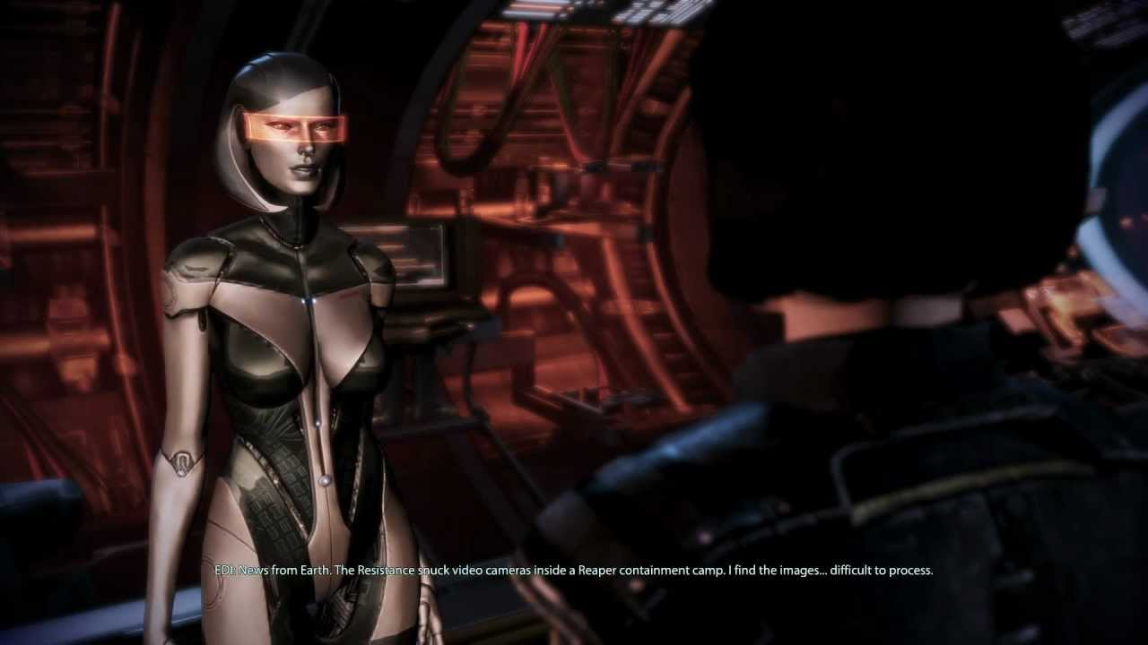 mass effect 3 edi and her humanity youtube. Black Bedroom Furniture Sets. Home Design Ideas