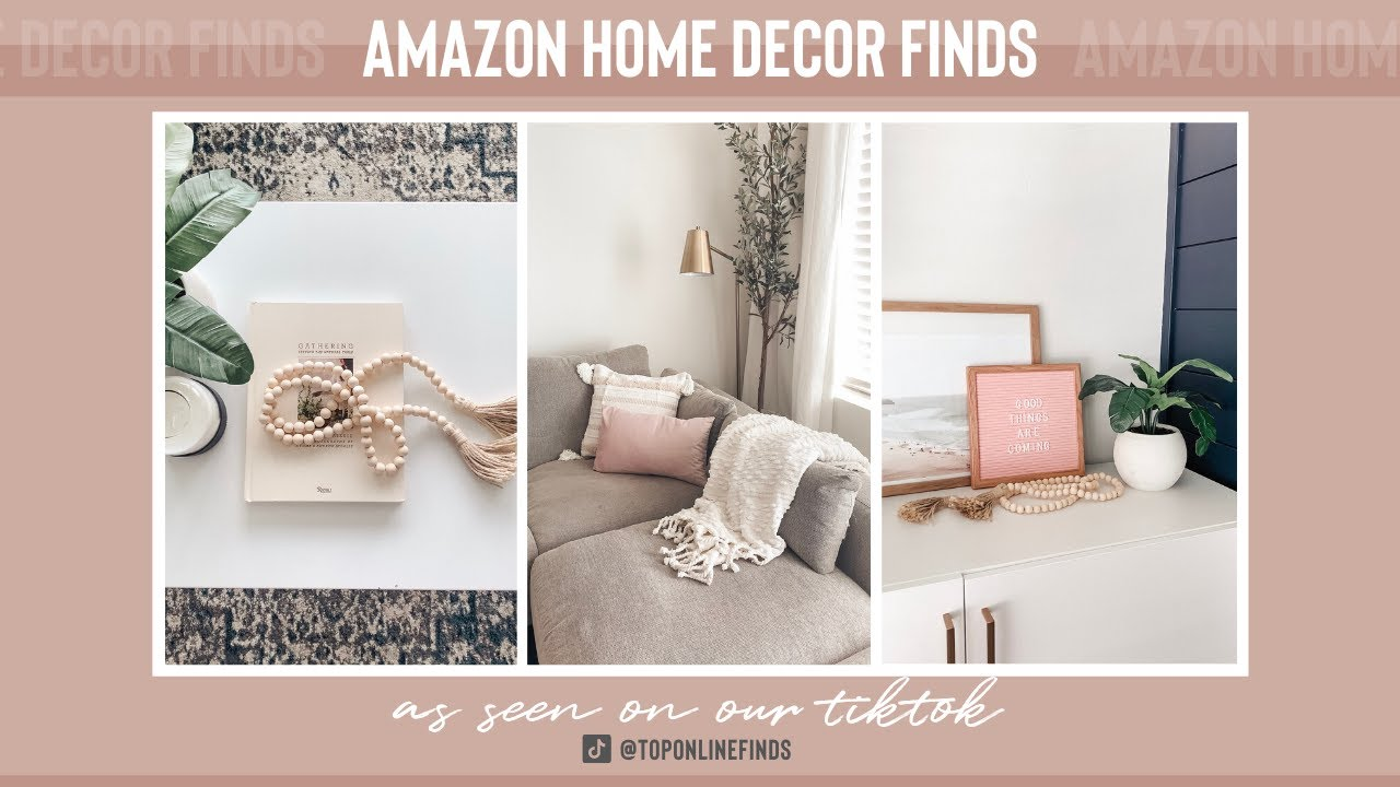 Amazon Home Decor Finds As Seen On Tiktok Top Online Finds Youtube