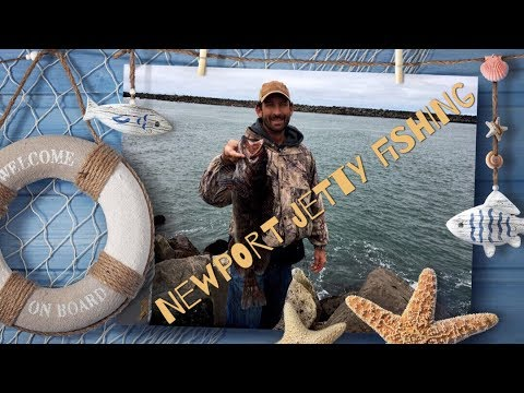 Jetty Fishing Newport Part 1 (How To, Bait And Tackle)