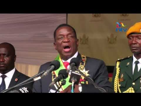 Emmerson Mnangagwa preaches reconciliation in first speech
