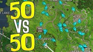ZU EINFACH | 50 gegen 50 ist whack | Fortnite Battle Royale