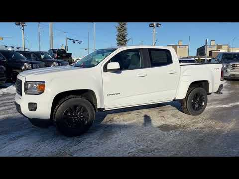 White 2020 GMC Canyon 4WD SLE Review   - Western GMC Buick