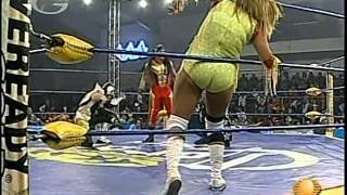 AAA: Fabi Apache, Aero Star vs. Sexy Star, Billy Boy, 2009/0830