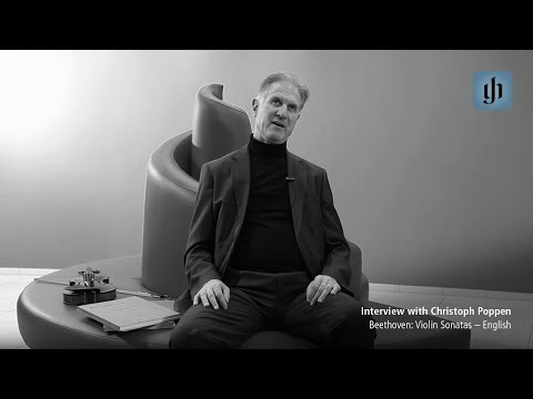 Beethoven: Violin Sonatas - English - interview with Christoph Poppen