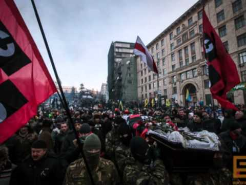 Were British rifles used at Kiev Maidan protest 22nd Feb 2014 to kill protesters & police in coup