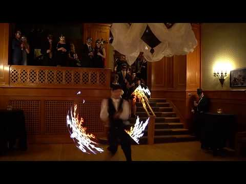 Ken Hill & Falconn - Performing at a Masquerade in Joslyn Castle Omaha, NE
