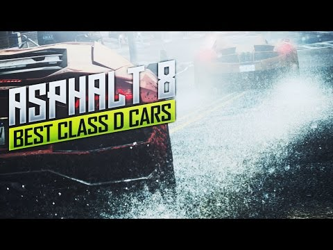 top 5 best class d cars screams and stunts in asphalt 8. Black Bedroom Furniture Sets. Home Design Ideas