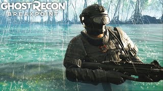 Ghost Recon Breakpoint EXTREME HEAVY COMPOUND TAKEDOWN! Ghost Recon Breakpoint Free Roam